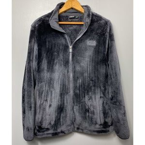 FILA Dark Gray Super Soft Full Zip Sweatshirt